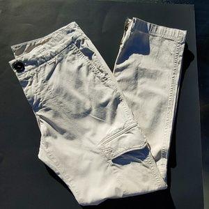 Burberry London khaki cargo pants
